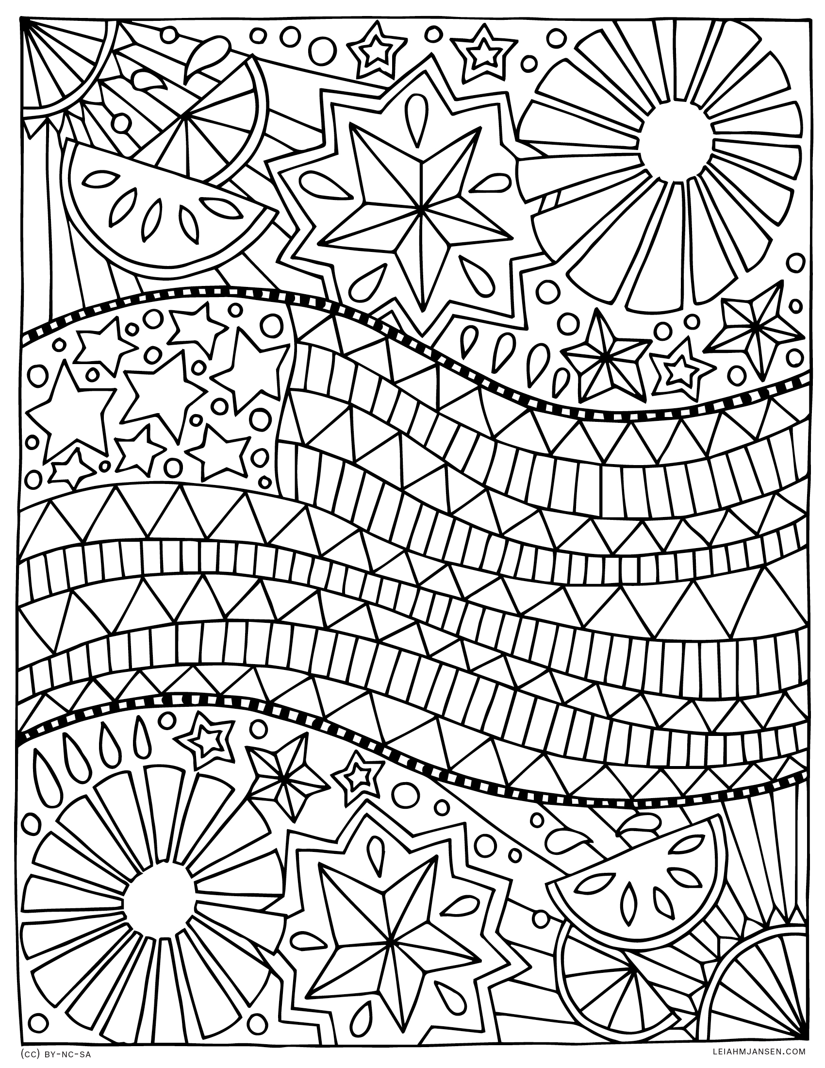 Coloring pages for 4th of july color pages