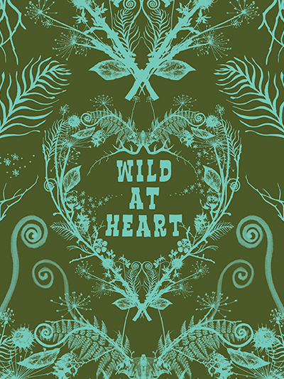doodles notebook cover - wild at heart